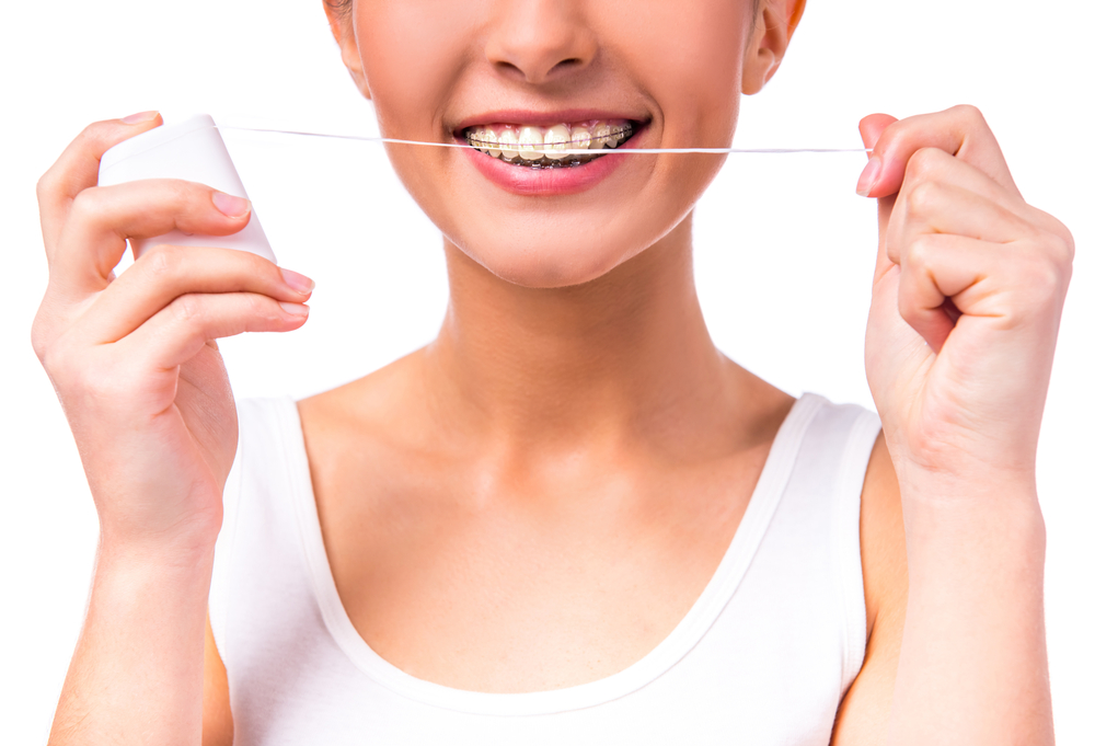 Braces - cleaning your teeth